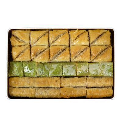 Handmade Assorted Luxurious Baklava , 2.2lb - 1kg