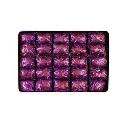 Handmade Blackberry Pistachio Baklava , 25 pieces - 2.2lb - 1Kg
