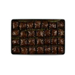 Handmade Chocolate Pistachio Baklava , 28 pieces - 2.2lb - 1Kg - Thumbnail