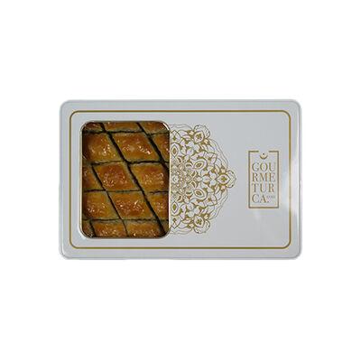 Handmade Diamond Walnut Baklava , 28 pieces - 2.2lb - 1Kg