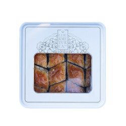 Handmade Diamond Walnut Baklava , 16 pieces - 1.1lb - 500g - Thumbnail