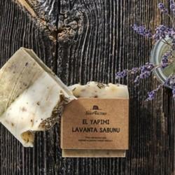 Handmade Lavender Soap 110 g , 3 pack - Thumbnail