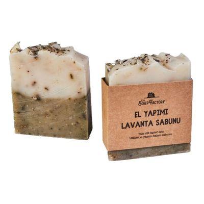Handmade Lavender Soap 110 g , 3 pack