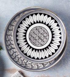 Saleenart - Handmade Oval Plate , 25cm