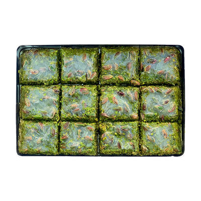 Handmade Pistachio Dream Baklava , 12 pieces - 1.98lb - 900g