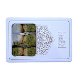 Handmade Pistachio Dry Baklava , 2.2lb - 1kg - Thumbnail