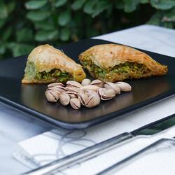 Handmade Şöbiyet Baklava , 10 pieces , 1.1lb - 500g - Thumbnail