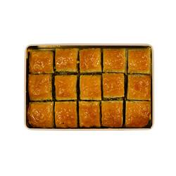 Handmade Square Pistachio Baklava , 15 pieces - 2.2lb - 1Kg - Thumbnail