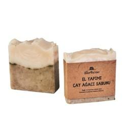 Handmade Tea Tree Soap 110 g , 3 pack - Thumbnail