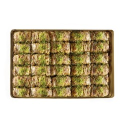 Handmade Twisted Baklava , 30 pieces - 2.2lb - 1kg - Thumbnail