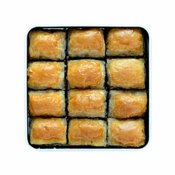 Handmade Walnut Baklava , 12 pieces - 1.1lb - 500g - Thumbnail