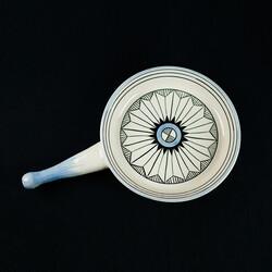 Handmade Water Patterned Snacks Pan - Thumbnail