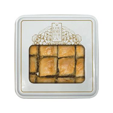 Handmade Pistachio Baklava with Olive Oil , 16 pieces - 1lb - 450g