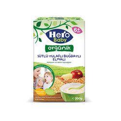 Organic Wheat Oats Apple , 7oz - 200g - Thumbnail