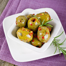 Aegan Olives Salad , 1lb - 450g - Thumbnail