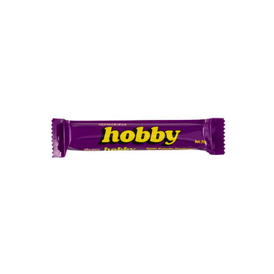 Hobby Chocolate Bar with Hazelnut, 0.88oz - 25g 24 pack