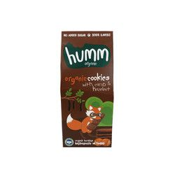 Humm - Organic Carob Cookies with Hazelnuts , 1.9oz - 55g