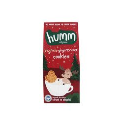 Humm - Organic Ginger Cookies with Cinnamon , 1.9oz - 55g