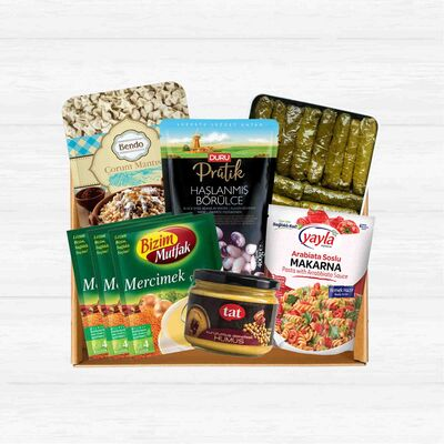 Instant Food Basket, 8 pieces