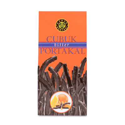 Dark Chocolate Coated Orange Stick , 9oz - 250g