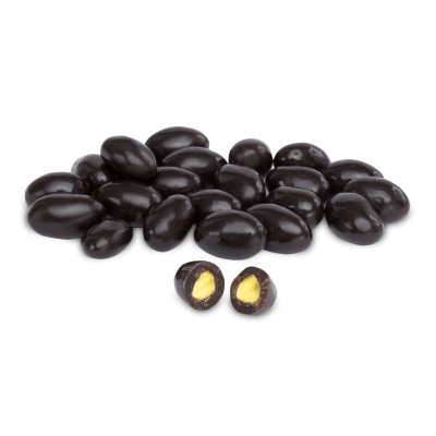 Dark Chocolate Pistachio Dragee , 6.3oz - 180g