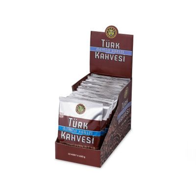 Turkish Coffee With Mastic Box , 12 pieces