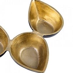 Karaca Elsa Snack Bowl 21x26 cm , 3 Pieces - Thumbnail