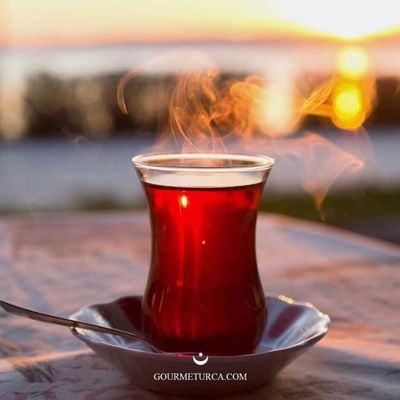 Kefkef with Kernel and Turkish Tea