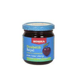 Koska - Diabetic Cherry Jam , 8.4oz - 240g