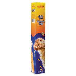 Koska - Ice Cream Cornet , 32 g 10 pieces