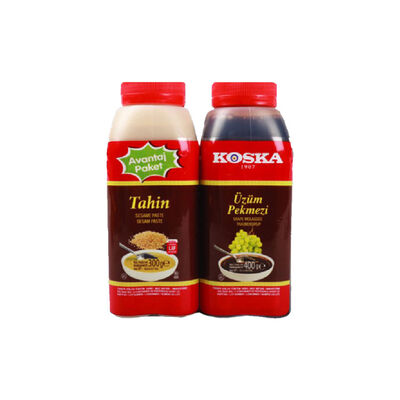 Molasses 400 g and Tahini 300 g Binary Set , 24.7oz - 700g