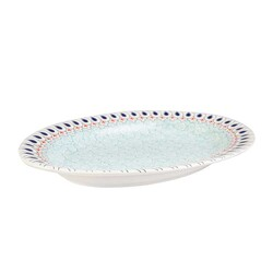 Mai Seljuq Series Oval Plate, 12.2inch - 31cm - Thumbnail
