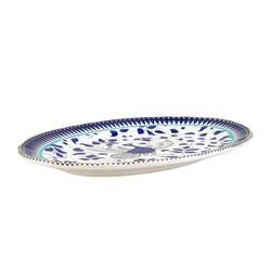 Mai Seljuq Series Oval Plate, 9.84inch - 25cm - Thumbnail