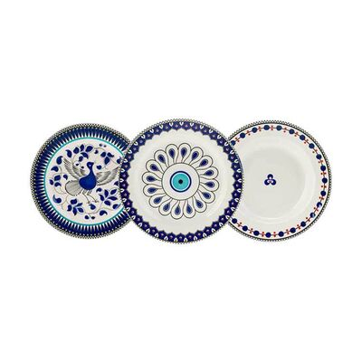 Mai Seljuq Series Plate Set , 3 pieces