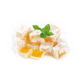 Mango Flavored Turkish Delight, 28oz - 800g - Thumbnail