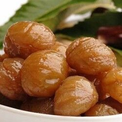 Marron Glace - Candied Chestnuts in Syrup , 1.1lb - 500g