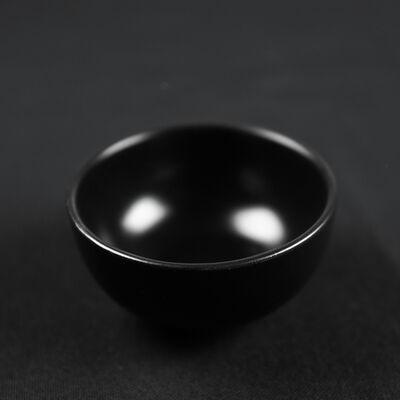 Mini Black Snack Bowl , 3.1x 1.5 inch