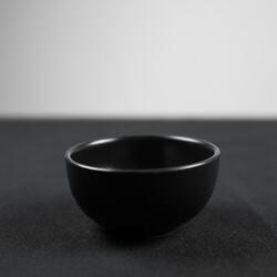 Mini Black Snack Bowl , 3.1x 1.5 inch - Thumbnail