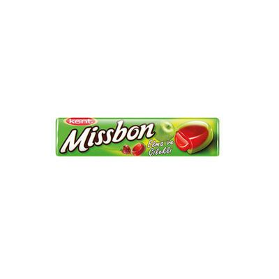 Missbon Coctail Apple and Strawberry Flavored , 1.5oz - 43g 6 pack