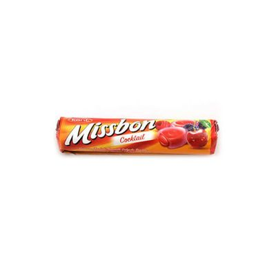 Missbon Coctail Cherry and Raspberry Flavored , 1.5oz - 43g 6 pack