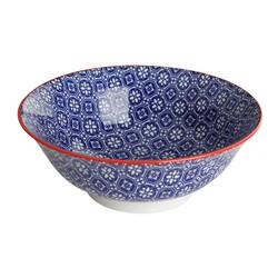 Mix Match Cobalt Bowl , 21 cm - Thumbnail