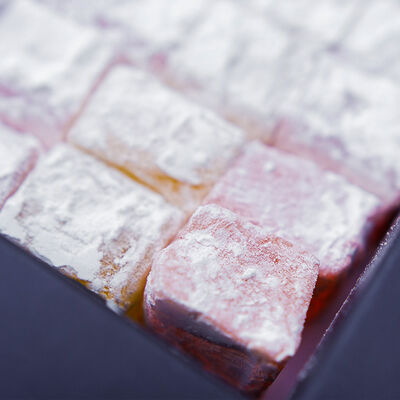 Mixed Fruits Flavoured Turkish Delight , 12.3oz - 350g