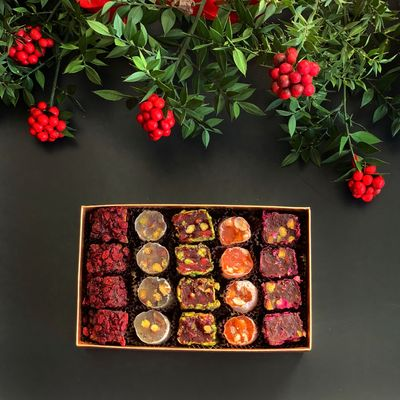 Mixed Turkish Delight , 16 pieces