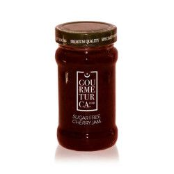 Gourmeturca - Natural Sugar-free Sour Cherry Jam , 13.4oz - 380g
