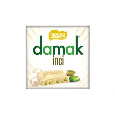Damak Pearl White Chocolate With Pistachio , 6 pieces