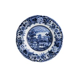 New Blue Odyssey Dinnerware Set, Service for 6 - Thumbnail