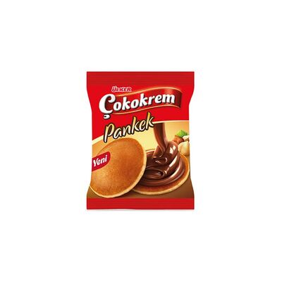 Pancake with Chocolate Cream, 1.41oz - 40g 6 pack