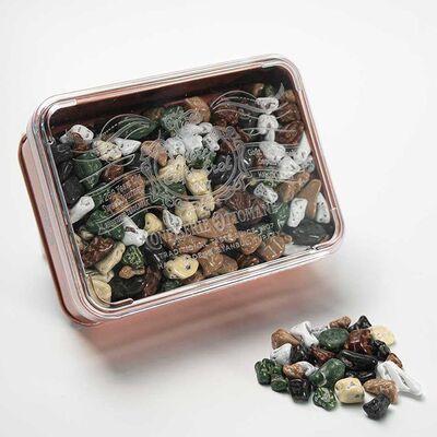 Pebble Dragee in Bronze Tin Box , 5.3oz - 150g