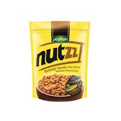 Peyman - Nutzz Barbecue Corn Snacks , 4.4oz - 125g