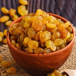 Pipless Golden Dried Grapes , 1.1lb - 500g - Thumbnail